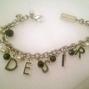 Dolce & Gabbana Gold Desire Charm Bracelet